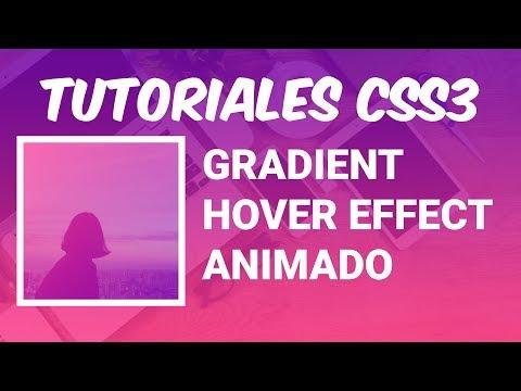 Tutorial CSS: Efecto Degradado Hover (Hover Gradient Effect)[Fácil] thumbnail