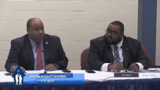 Lawrence School Committee - January 2017