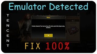 How to bypass pubg emulator detected new update fixed in