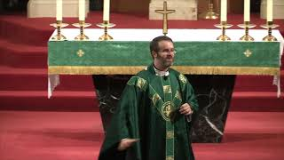 Fr Ryan Homily 22nd Sunday in Ordinary Time
