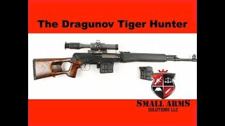 The Dragunov Tiger Hunter Carbine