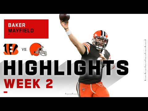 Baker Mayfield Leads Browns w/ 219 Passing Yds & 2 TDs   NFL 2020 Highlights