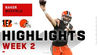 Baker Mayfield Leads Browns w/ 219 Passing Yds & 2 TDs | NFL 2020 Highlights