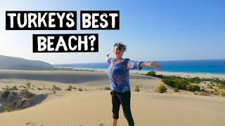 Is PATARA The BEST Beach area in TURKEY? VAN LIFE adventures