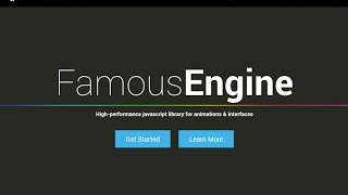 Getting started with the new Famo.us Javascript Engine