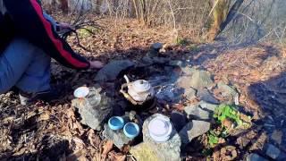 Чай на природе - Завариваем Да Хун Пао - март 2017