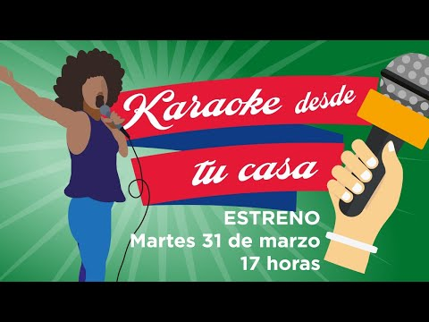 Karaoke desde tu casa