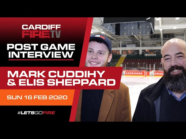 Postgame with Mark Cuddihy & Elis Sheppard 17-02-20 v Oxford Stars