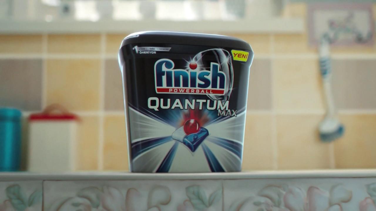 Finish | Yeni Finish Quantum Max ile #GücümüzYeter