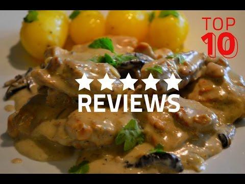 cuisine-facile-de-poulet-à-la-crème-et-aux-champignons