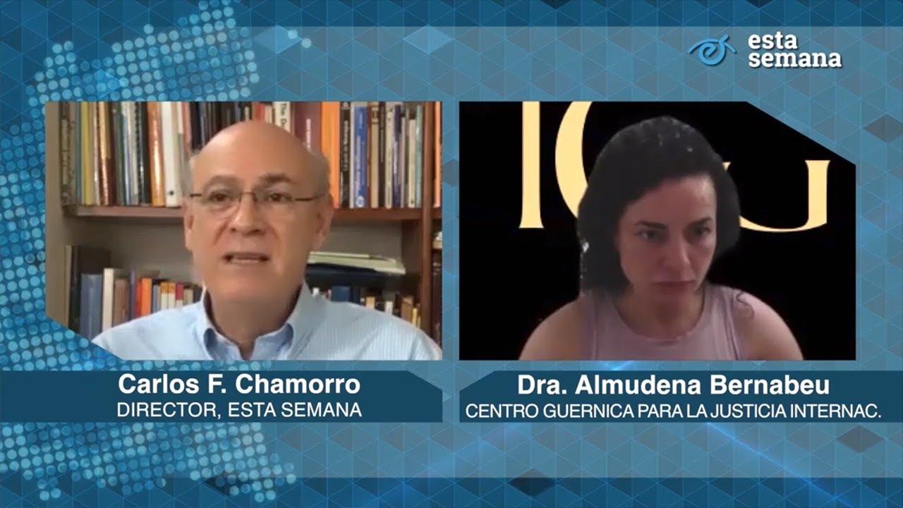 Almudena Bernabéu: About Justice in Nicaragua