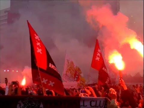 Ajax Kampioen 2014: Hoogtepunten Huldiging ArenA Park