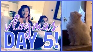 12 Days of Vlogmas Day 5! // Glam Planner Party and Mini Office Tour!