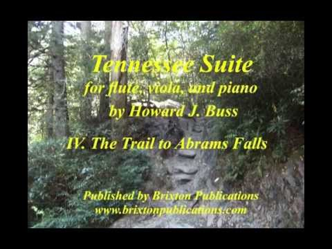 "TENNESSEE SUITE: IV. ""The Trail to Abrams Falls"" by Howard J. Buss"