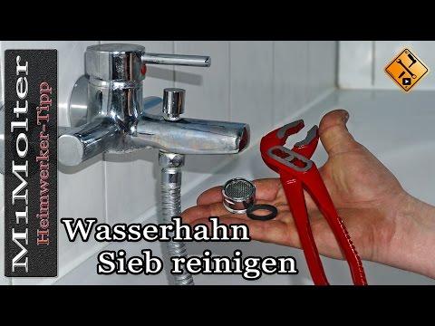 Gut bekannt Wasserhahn Sieb reinigen / Wasserhahn verkalkt / Perlator reinigen PH47