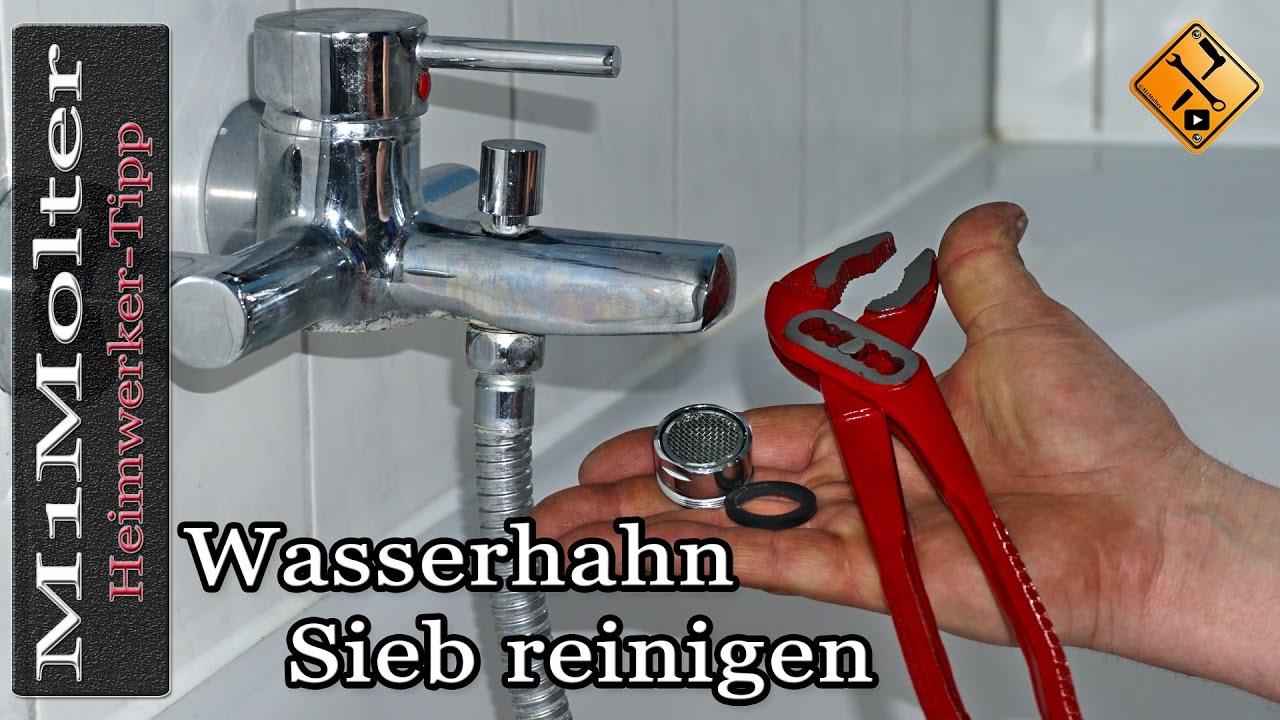 Wasserhahn Sieb Reinigen Wasserhahn Verkalkt Perlator Reinigen