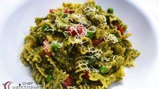 Spinach And Basil Pesto Pasta Salad