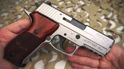Sig Sauer P220 Elite Stainless Rosewood 45ACP Pistol Overview - Texas Gun Blog