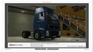 Let´s play Euro Truck simulator 001 - Großer Truck auf großer Fahrt
