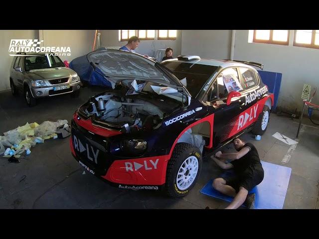 DECORAÇÃO DO CITRÖEN C3 R5 - 54° Azores Rallye