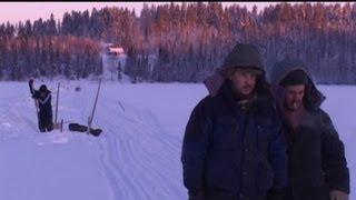 Зима.Лов рыбы сетями(http://www.tersky.ru/ Смотрите канал