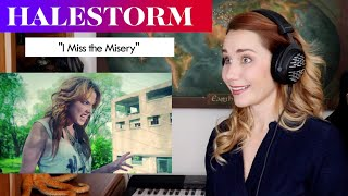 "Download Halestorm ""I Miss the Misery"" REACTION & ANALYSIS by Vocal Coach/Opera Singer"