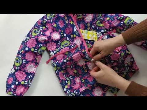 Демисезонная детская куртка ветровка для девочки фиолетовая 2-6 лет 4094