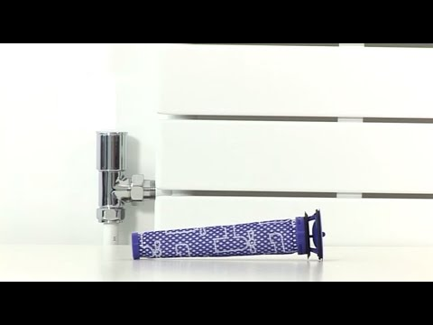 Dyson Pure Cool™ Link Tower purifier fan - Replacing the filter .