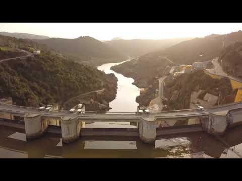 Barragem de Bemposta por Drone