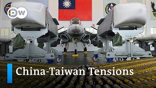 Ongoing threats from China push Taiwan towards the US   DW News