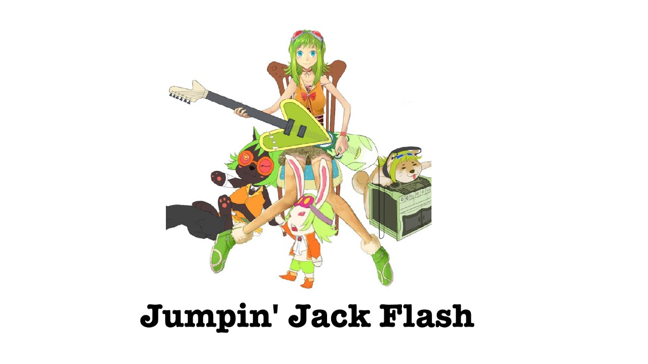 "KORG Gadget ""Jumping Jack Flash"" Vocaloid Cover - YouTube"