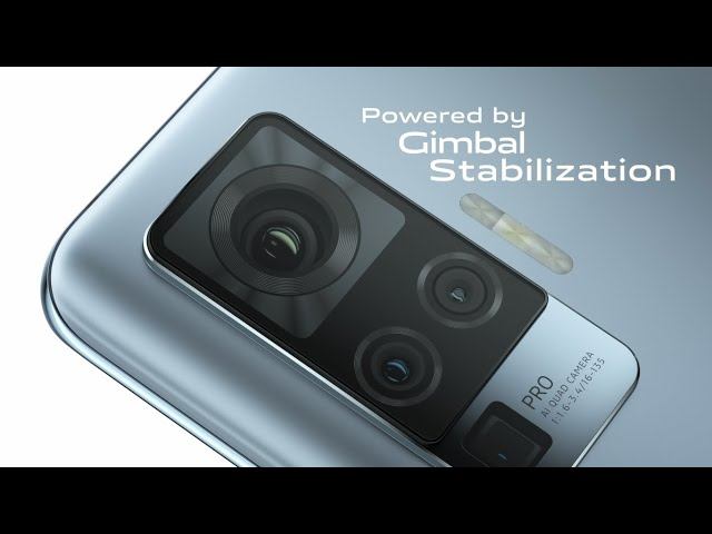 #vivoX50Series | Ultra Stable Videos powered by Gimbal Stabilization - Vivo India