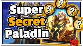 SUPER Secret N'Zoth Paladin - Saviors Of Uldum - Hearthstone