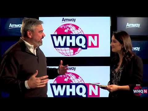 Around the World Business Update with Amway COO Mike Cazer | WHQ News