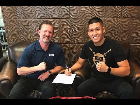 Steven Nguyen talks about making his pro kickboxing debut at Evolution Fighting Championship 7
