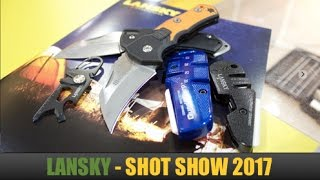 SHOT Show 2017: Lansky -- World Legal Slip Joint Knives, Tools and Sharpeners
