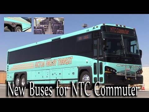 New Buses for the NTC Commuter