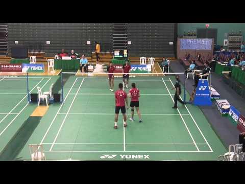 2014 K&D Graphics & YONEX Grand Prix Badminton Championships XD Round 1 Game 8 1080P HD