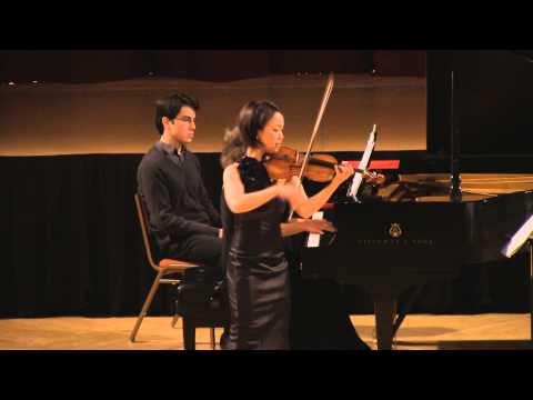 Debussy Clair de lune. Mari Lee, violin Dina Vainshtein, piano in HD (Simon)