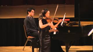 Debussy Clair de lune. Mari Lee, violin Dina Vainshtein, piano in HD (Simon) - Stafaband