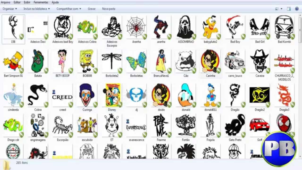 Download vetores corel draw