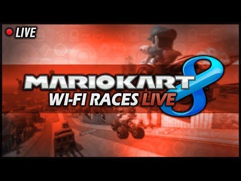 """Mario Kart 8"" Wi-Fi Races *LIVE* - #001"