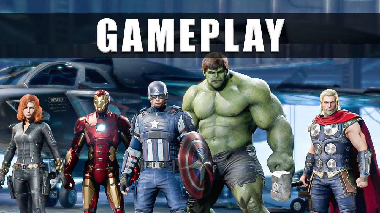 Marvel Avengers game gameplay footage