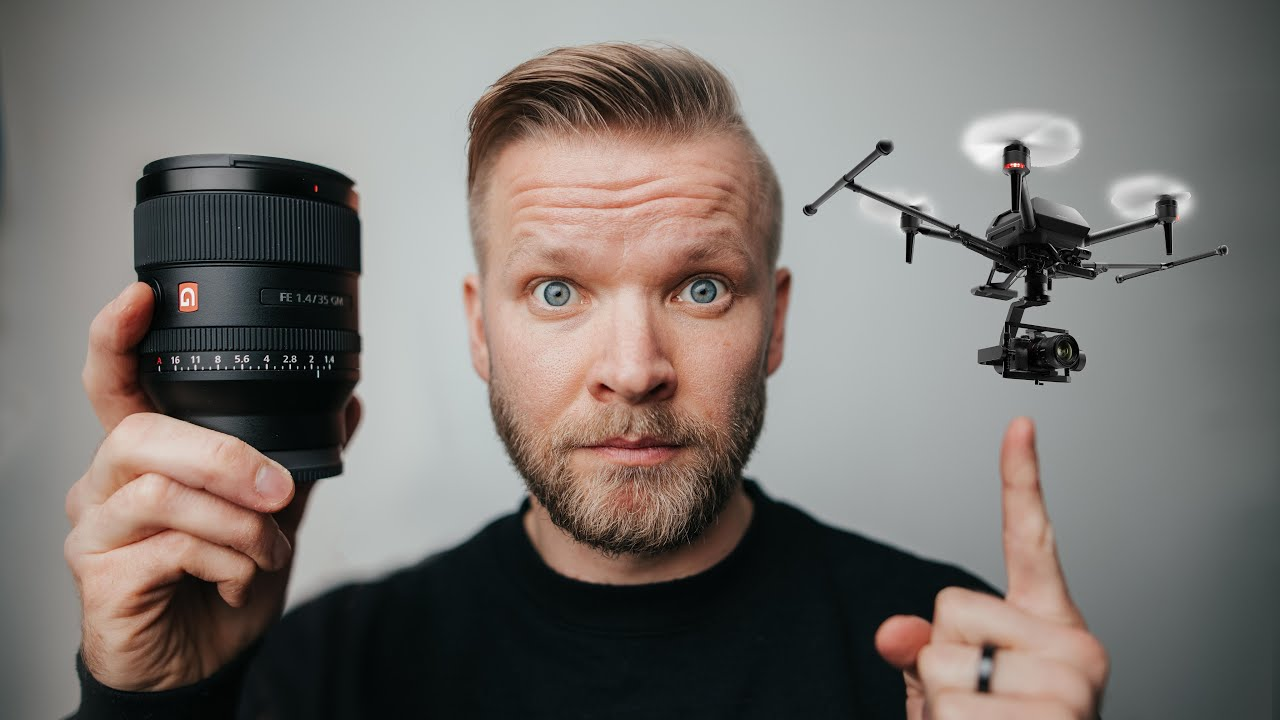 FINALLY Sony 35mm 1.4 Lens AND A SONY DRONE? 😳