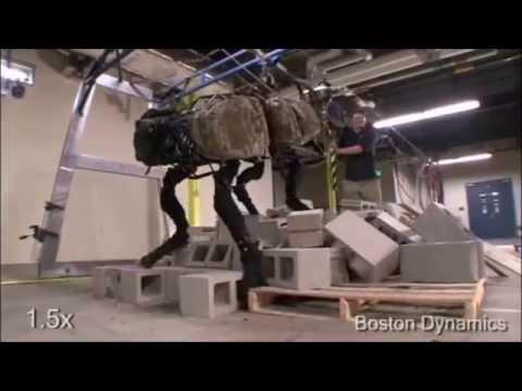 Boston Dynamics All Prototypes
