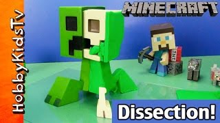 Play Doh Minecraft Creeper Take Apart