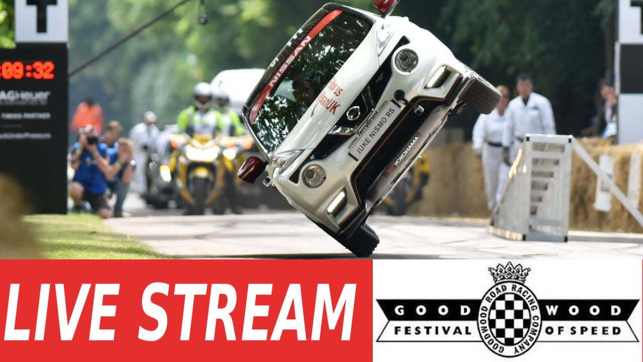 Goodwood Festival of Speed - 26th to 28th June 2015 - LIVE HD
