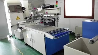 Silk screen printing machine automatic printing PCB board heat transfer equip máquina de serigrafía