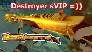 destroyer gold nỗi kinh hong của zombie truy kch vn