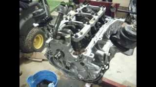 350z vq35de twin turbo engine build